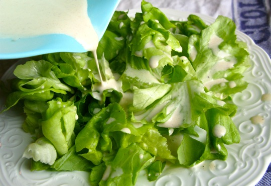 dressings for salads. for the salad dressing,