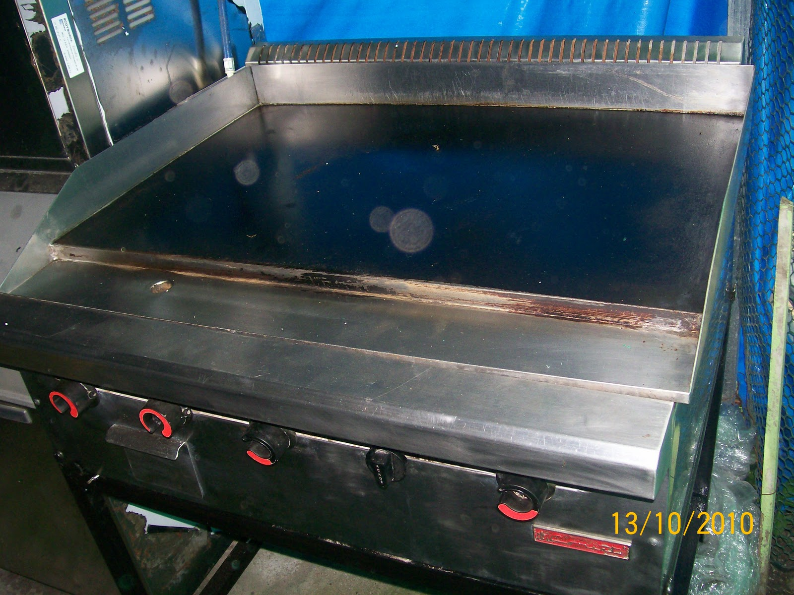 Equipos de cocina plancha for Equipos de cocina de segunda