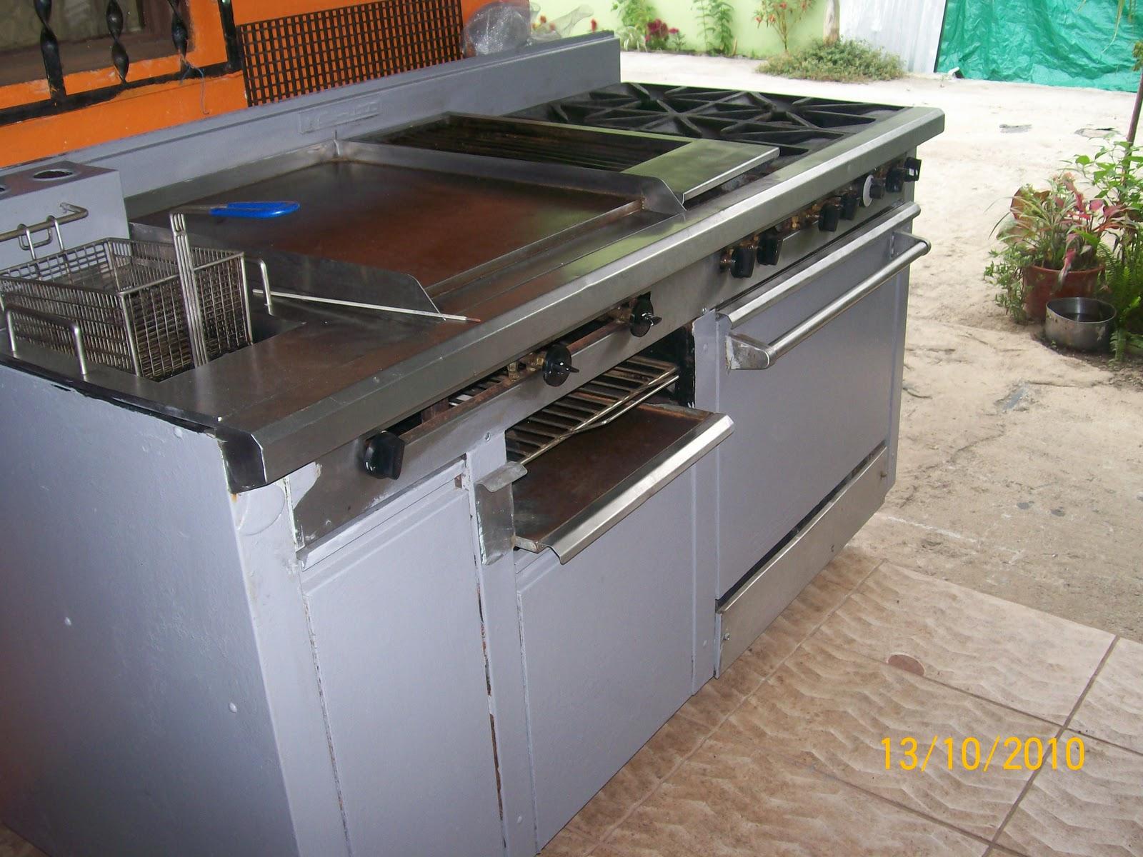 Equipos de cocina cocinas industriales for Todo para cocinas industriales