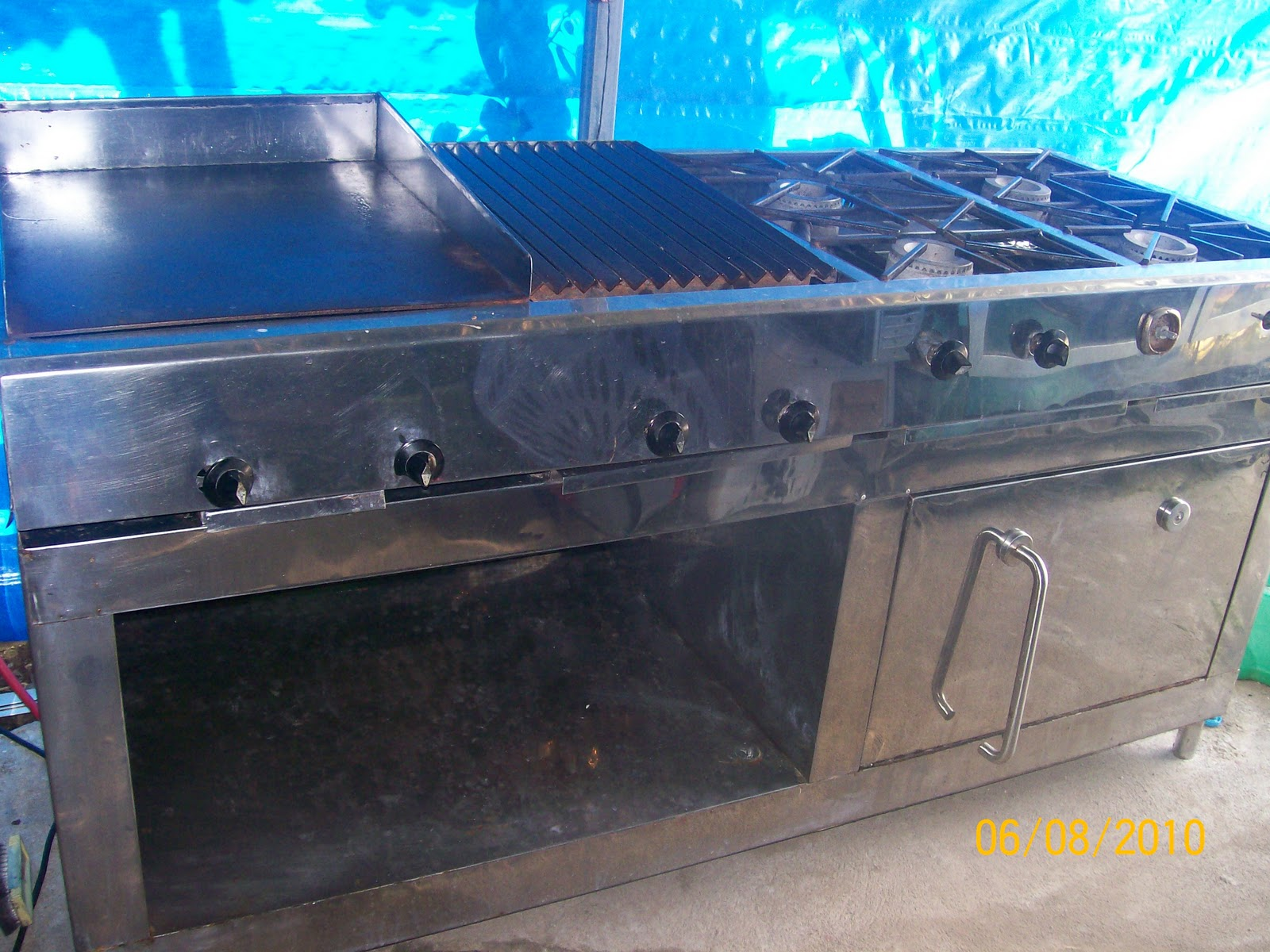 Equipos de cocina cocina industrial for Equipos de cocina de segunda