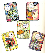 Five More ATCs-Fairies