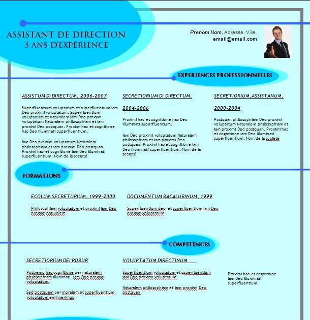 modele curriculum vitae lettre de motivation gratuit  t u00e9l u00e9charger modele cv n26