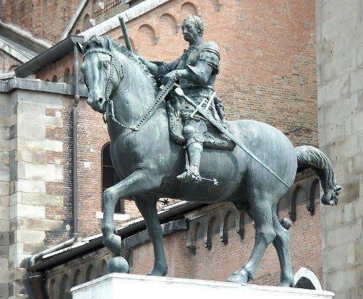 Ele iniciou seus estudos sobre cavalos que resultaram nos esbo  231 os que    Donatello Equestrian Statue Of Gattamelata