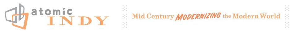 Mid Century Modern Atomic Indy