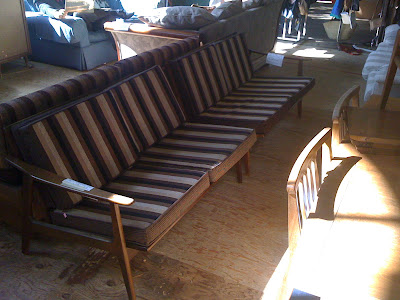 Free Super Cool Danish Twopiece Couch Reminiscent Of Kofod Larsen Was For  Both Pieces With Furniture Stores In Bay Area Ca