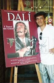 Jeovah santos visita Exposição de Daço na Itália.