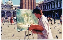 Show de pintor Internacioal, Jeovah Santos em Veneza ao vivo.