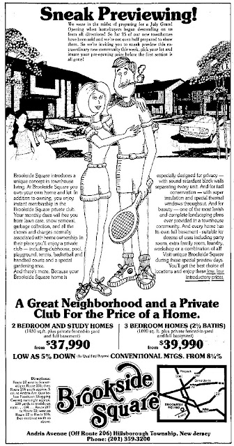 Brookside Square Ad, 1976