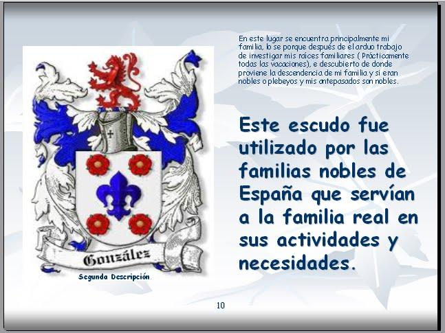 La_paulita_linda: El 2º escudo de González.