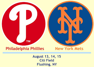 Phillies at Mets: August 13th through August 15th