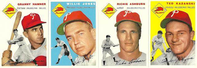 1954 Topps Phillies