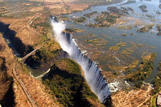 Водопад Виктория (25 фото + видео)