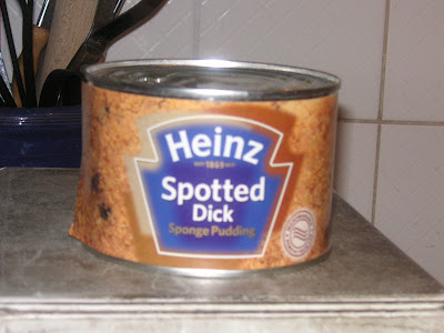 John Kerry's spotted dick