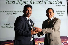 HCC Annual Performance Award 2010