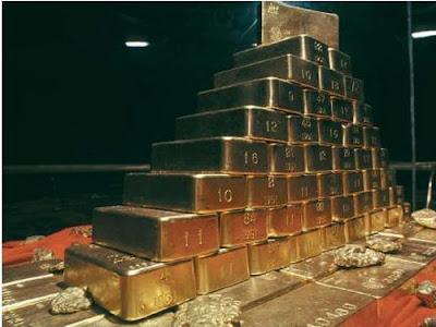 สถานที่เก็บทองคำมากที่สุดในโลก
