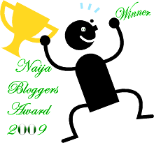 Naija Blog Award Winner