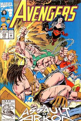 Avengers #358
