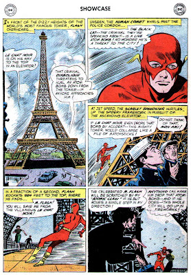 Flash en la Torre Eiffel