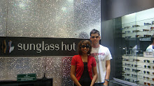 Sunglass Hut- Zebra & Giraffe's lead vocals and guitarman- Greg and Wedaad- Sunglass Hut Marketing