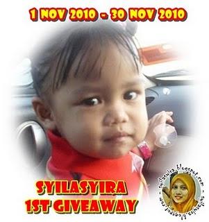 """Syilasyira 1st Giveaway"""