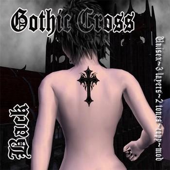 Gothic Tattoos on Gothic Tattoos Design  Gothic Cross Tattoo