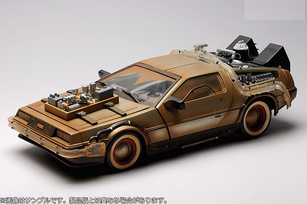 Back To The Future Part III: 1/15 replica DeLorean Mark 3 ...