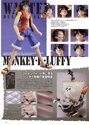 1/8 MG Figure-Rise Monkey D Luffy Scans