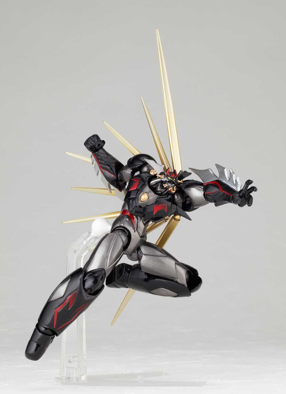 Revoltech N99 Getter Robo Ark Black Ver 2