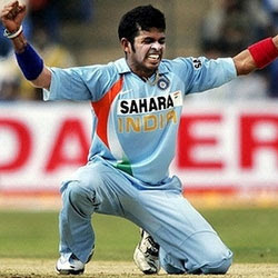 Sreesanth In World Cup Squad