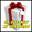 1st Giveaway Ms Sunsweetz