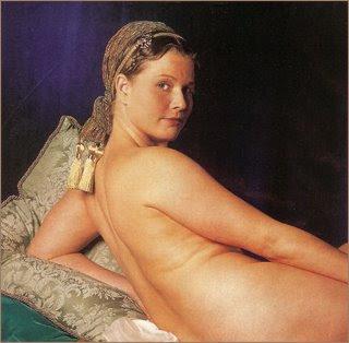 Ingres, un nouveau Picasso? en tout cas un érotomane Ingres+Odalisque+-+50_Most_Beautiful
