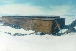 Struktur Perahu Nabi Nuh