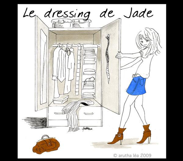 Le dressing de jade le blog de d nicheuse de vide dressing for Dessin dressing