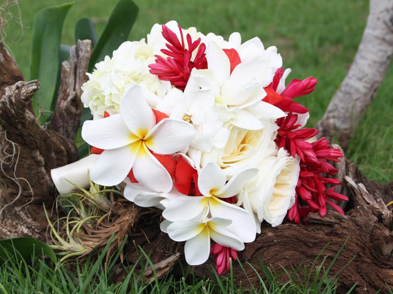 Hawaiian Bridal Bouquet Pictures