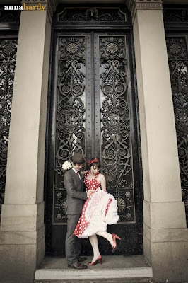 A Quirky Red Polka Dot Wedding: Lisa and Tom ~ UK Wedding Blog ~ Whimsical Wonderland Weddings