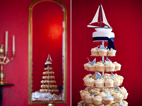 An Irish Nautical Wedding with a Red Classic Car ~ Triona ...