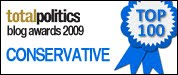 71st top Tory blog 2009