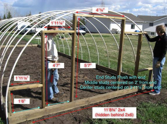Covertress How To Build An Inexpensive Hoop Style Greenhouse