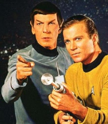 captain kirk spock phd alienology lol