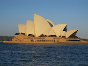 Sydney Opera House, sunset. The Sydney Opera House at sunset. (opera house sunset)