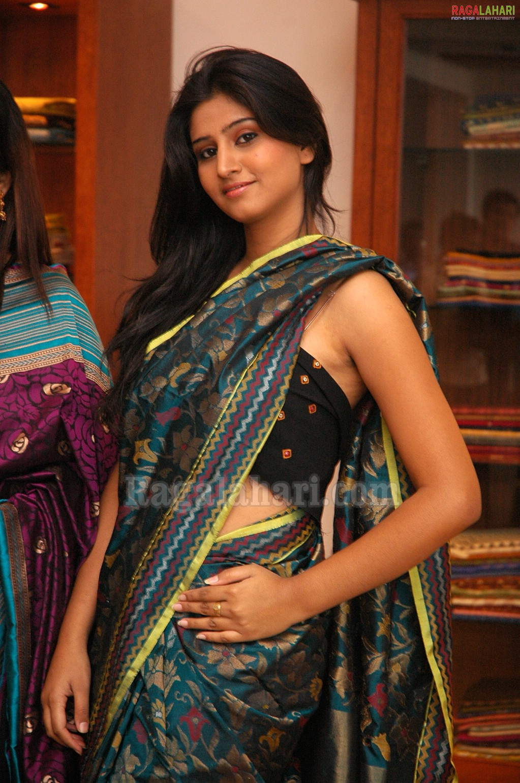 , Model Shamili Sexy Saree Stills