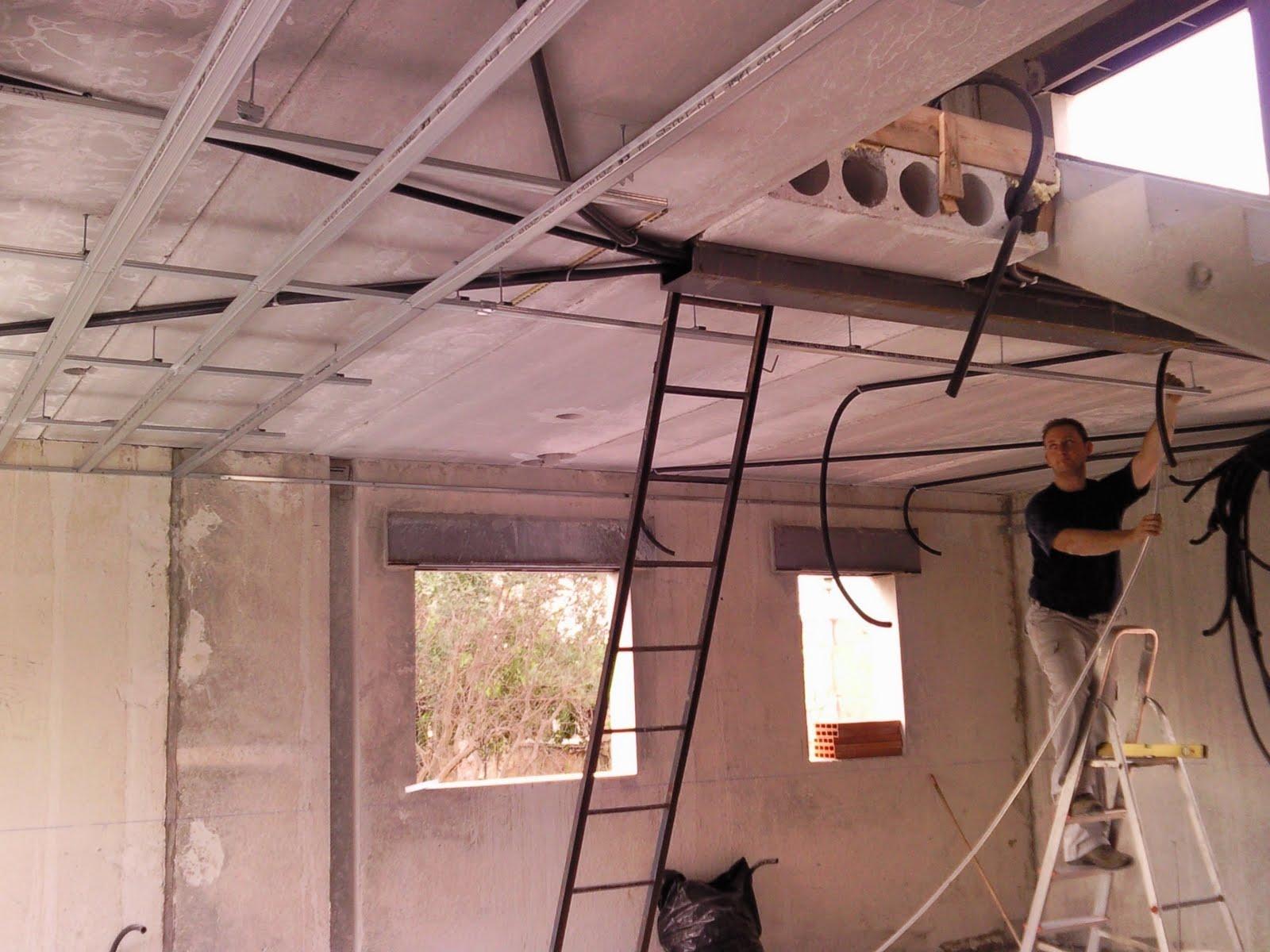 C l bonito 39 s perfileria pladur - Poner techo de pladur ...