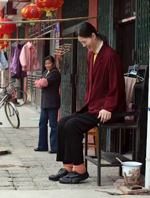 tallest woman in world. The world#39;s tallest woman