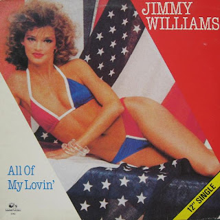 Jimmy Williams  -  All of my lovin'  1983  12 Inch