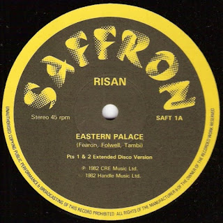 RISAN - Eastern Palace (Pts 1 & 2 Extended Disco Version) 1982