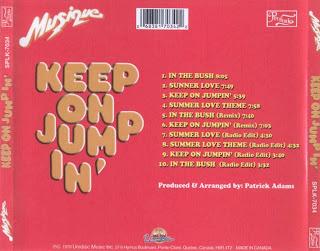 Musique  -  Keep On Jumpin'  + Bonus 1978 CD