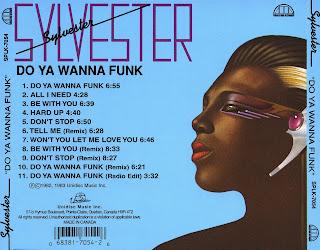 Sylvester  -  Do Ya Wanna Funk 1982 CD