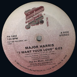 Major Harris  -  I Want Your Love 12 Inch 1983