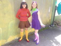 Daphine e Velma -Scooby Doo