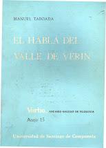 El habla del Valle de Verín